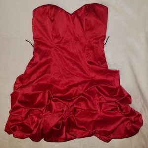 Ruby Rox Strapless Party Dress